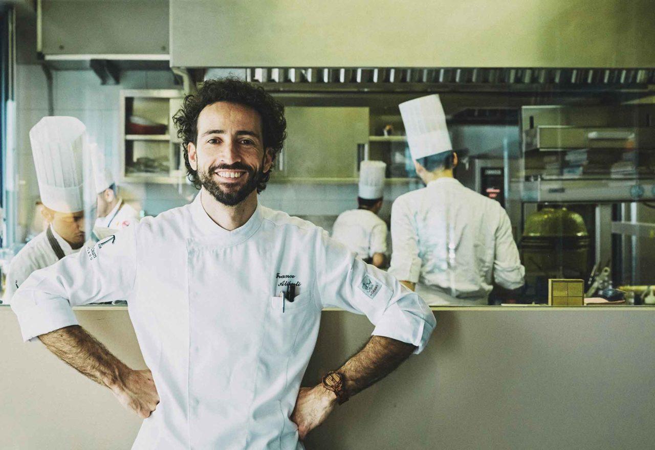 Chef Franco Aliberti Tre Cristi cucina