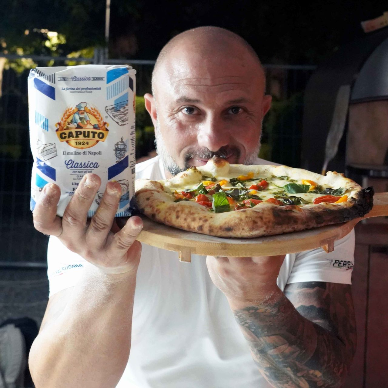 Giuseppe Pignalosa farina Caputo pizzeria