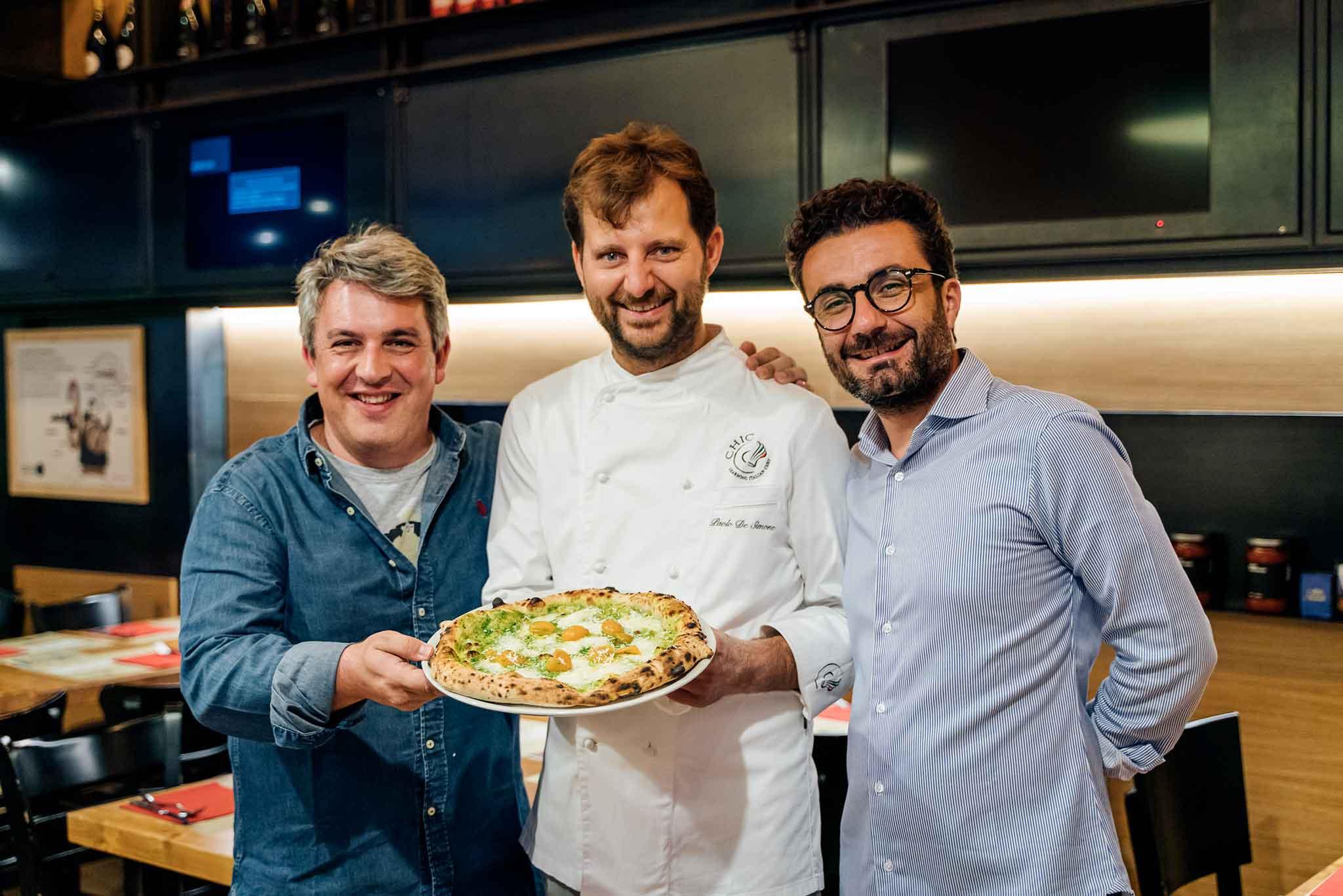 Mainenti De Simone Boccia pizzeria Da Zero pizza Primula Palinuri