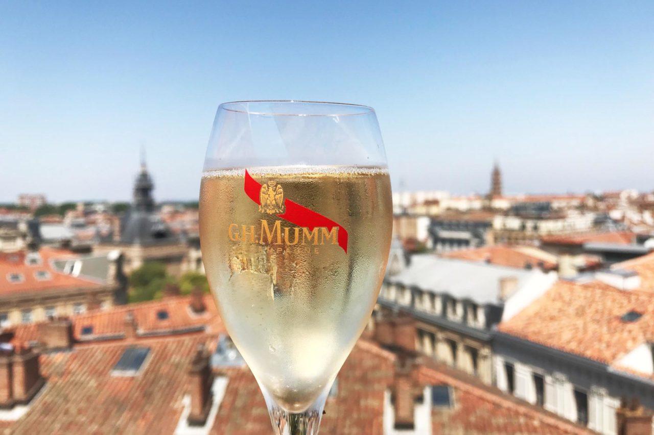 Tolosa golosa champagne panorama tetti