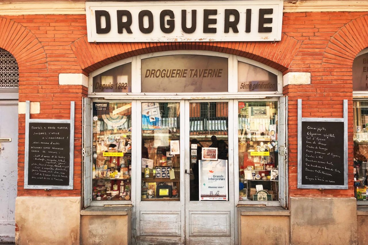 Tolosa golosa, negozio tipico droguerie