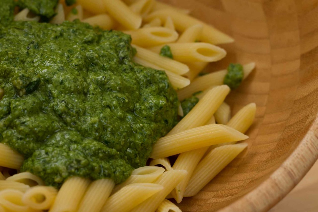 il pesto del fuorisede: pasta condita