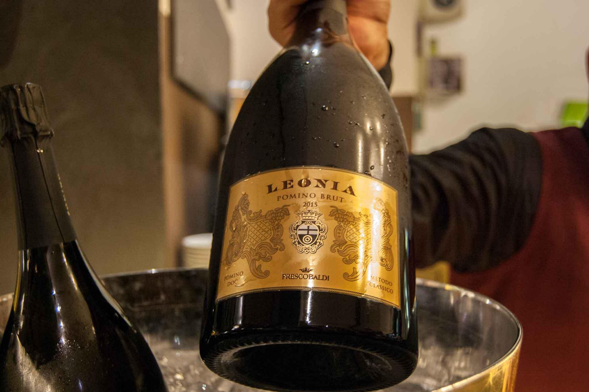 spumante metodo classico brut chardonnay e pinot nero Pomino Doc