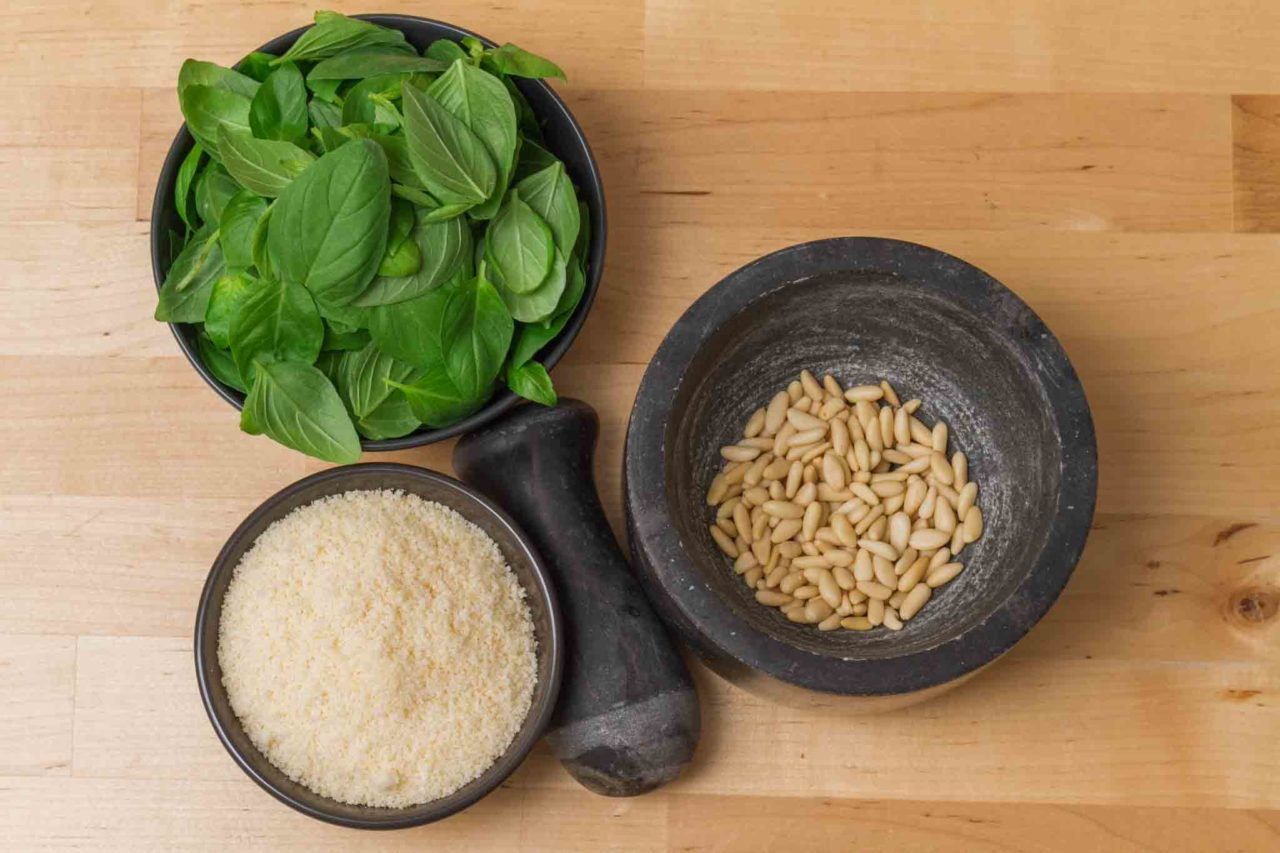 il pesto del fuorisede: ingredienti