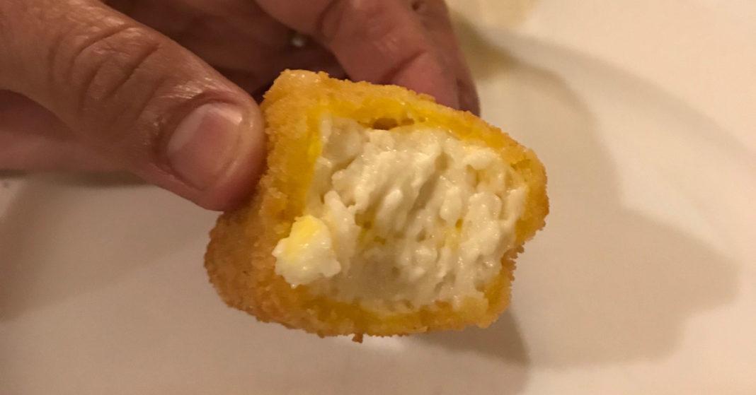 Cubetto di Salva cremasco fritto