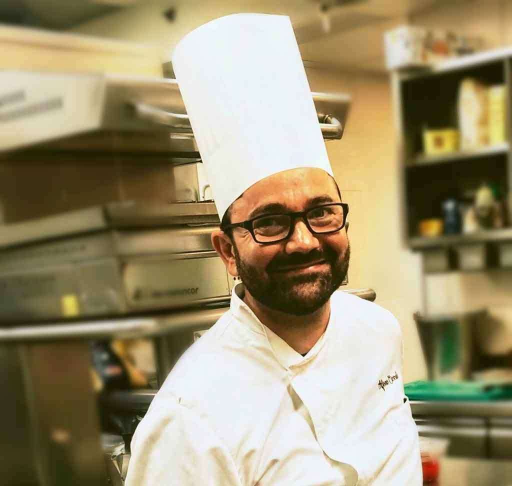 Alfonso Cicerale chef La Caravella Hotel saturnia venezia