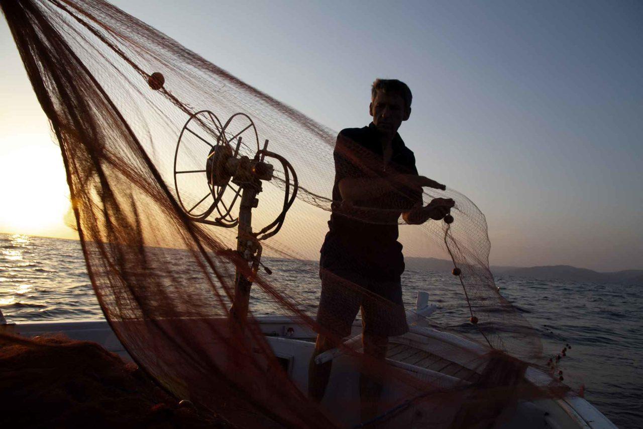 pesce a casa: metodo di pesca