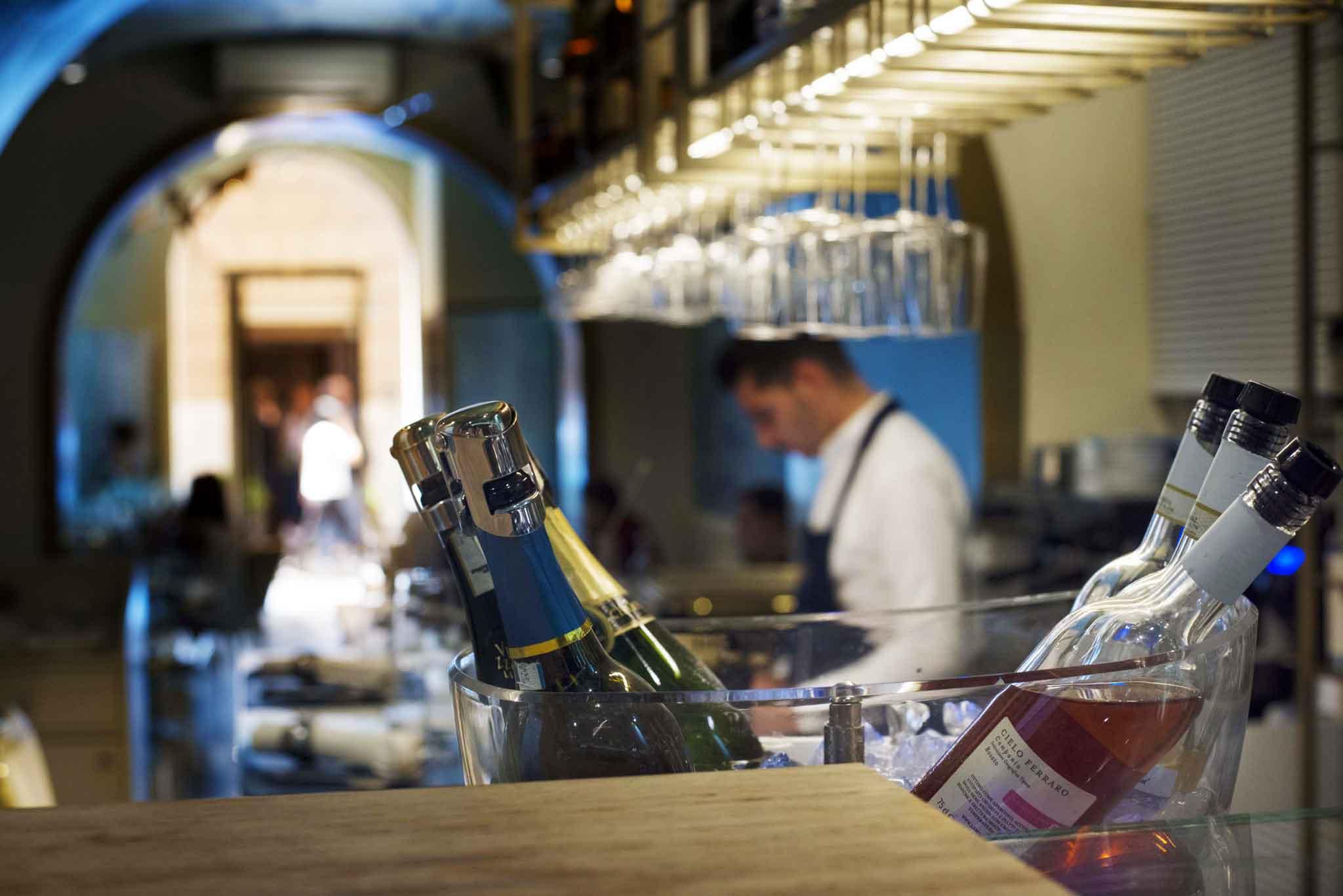 aperitivo di pesce gourmet Roma centro