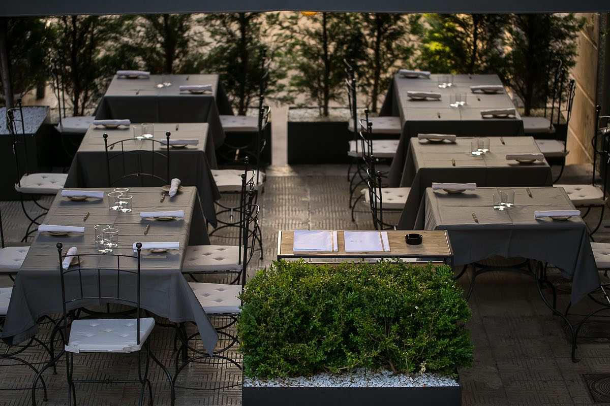 Decreto ristori ristorante esterno
