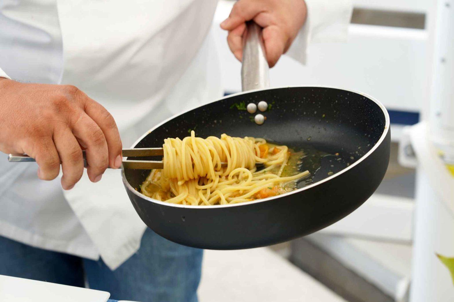 spaghetti in padella