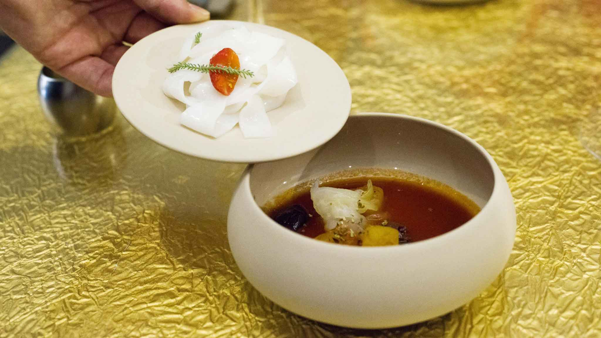 ristorante di cucina mediterranea rivisitata