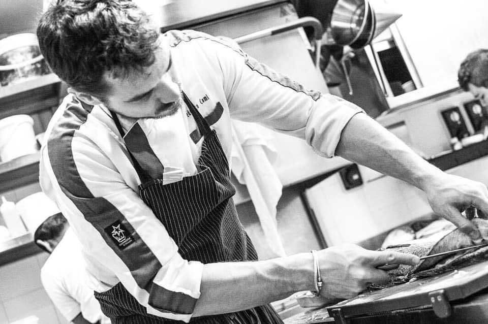 chef Federico Comi comi107 ristorante como