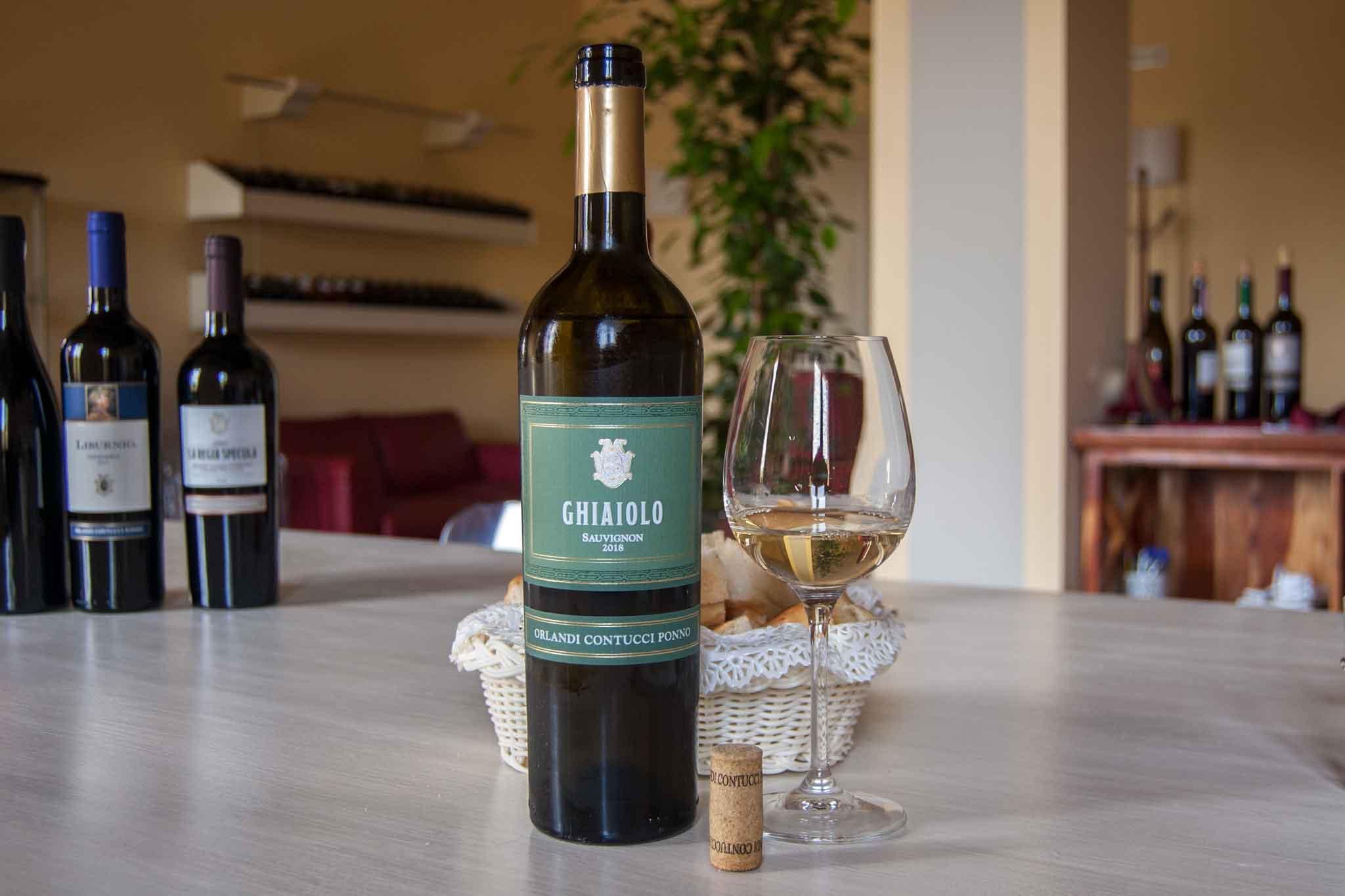 ottimo vino bianco sauvignon