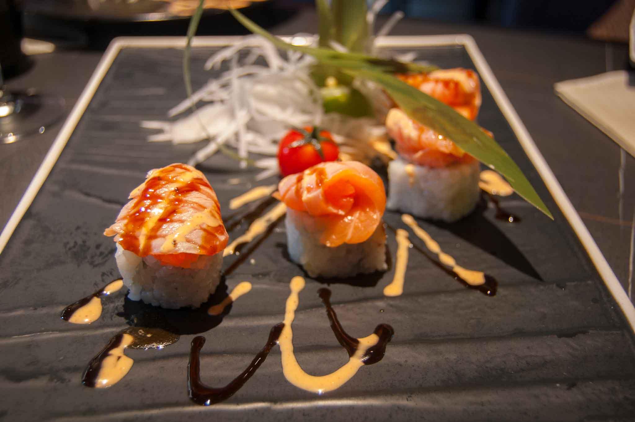 sushi e sashimi fusion a roma