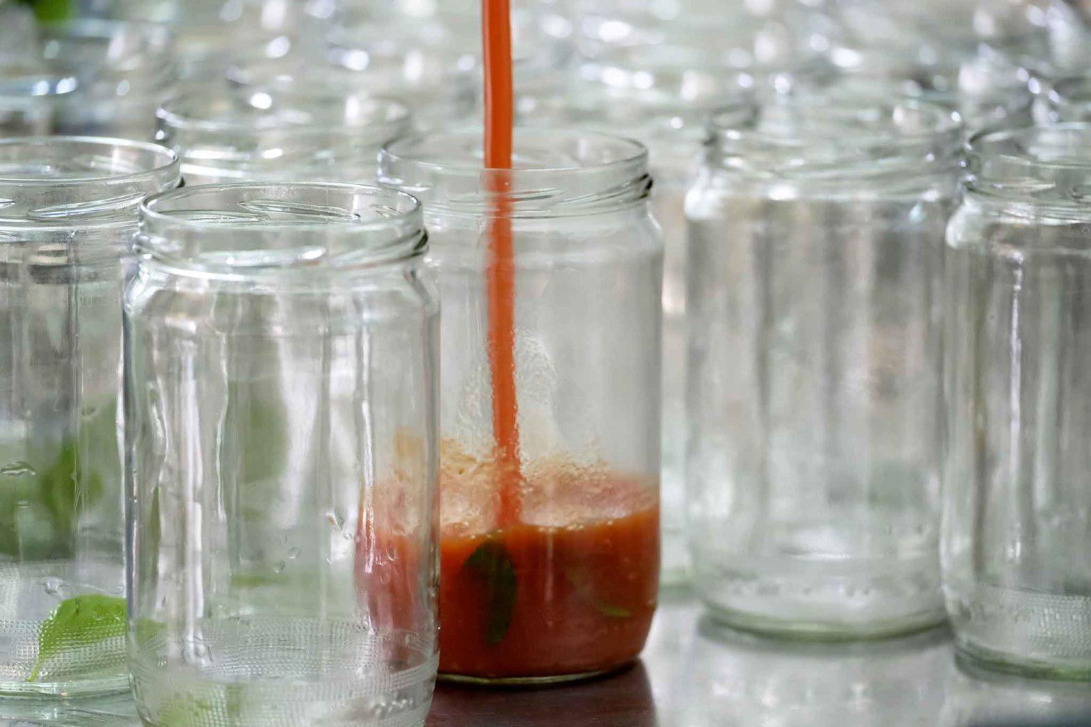 salsa di pomodoro Maida Da Zero passata barattolo