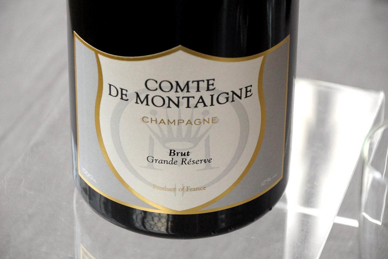 Comte de Montaigne etichetta Brut Grande Réserve