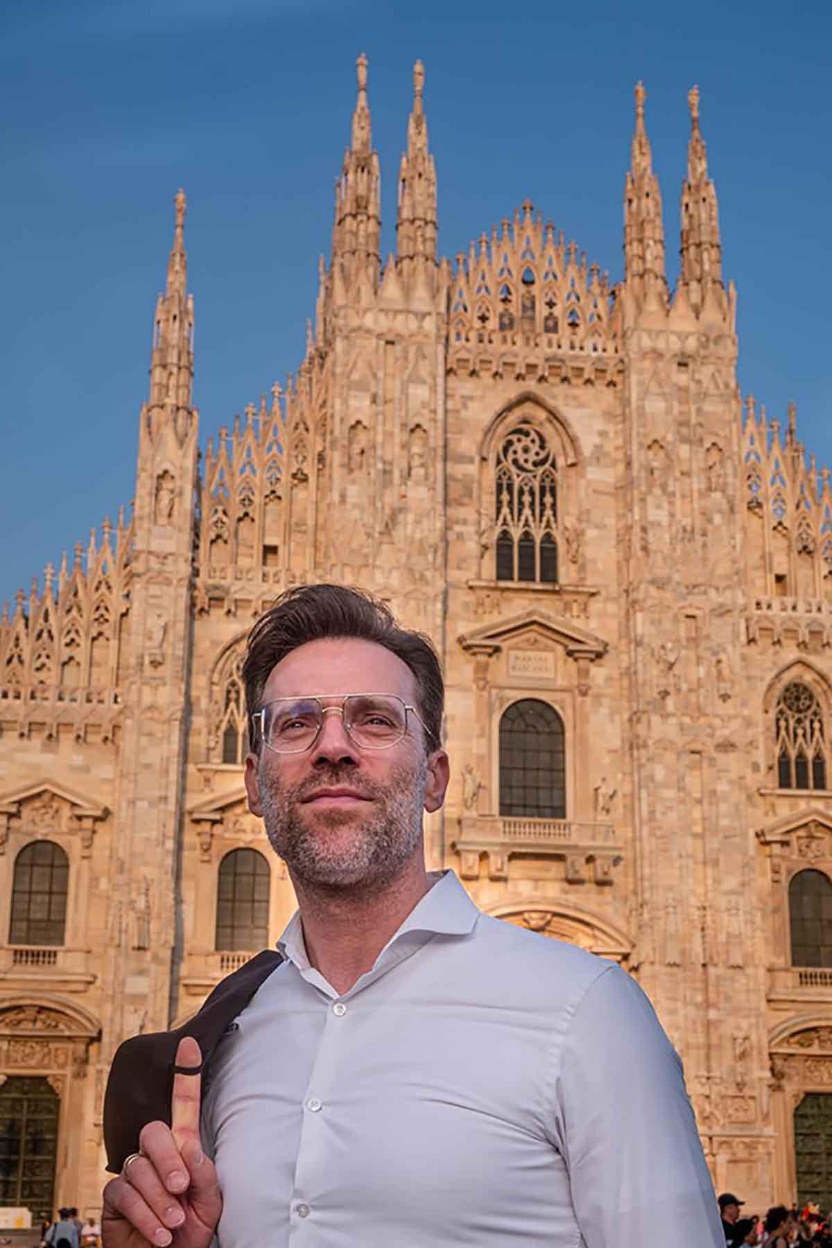 Renato Bosco e le pizze a Milano