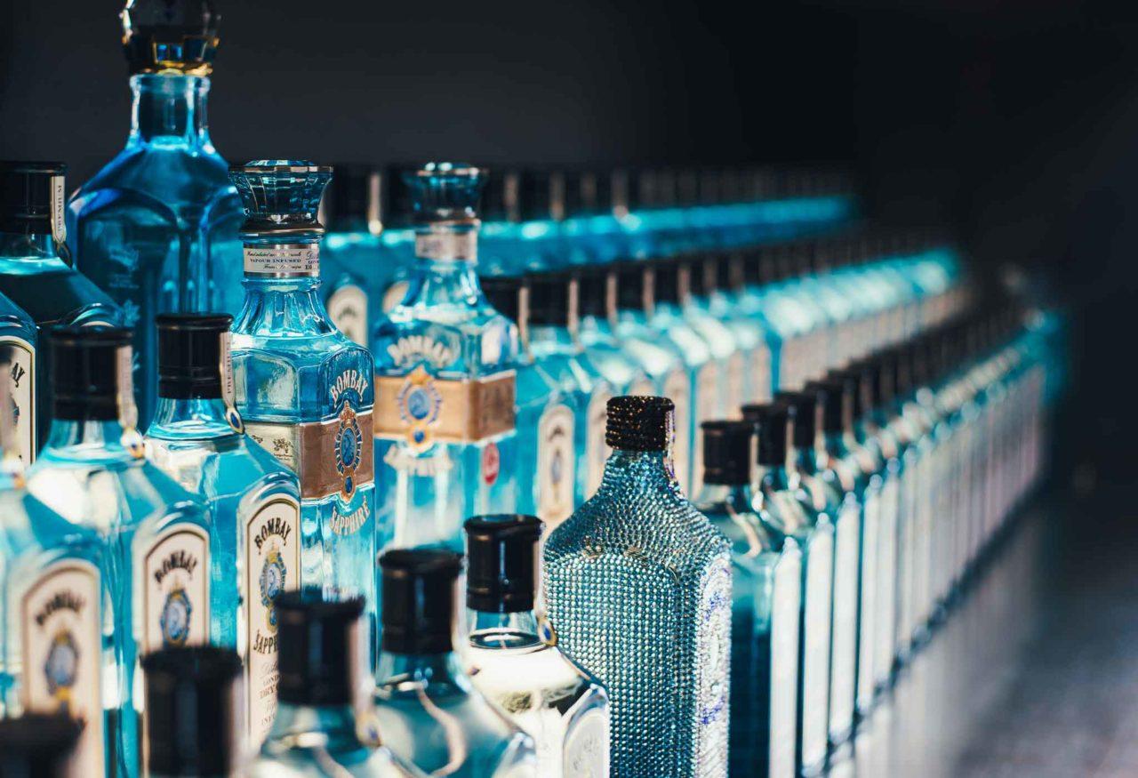 ottimo gin Bombay Sapphire