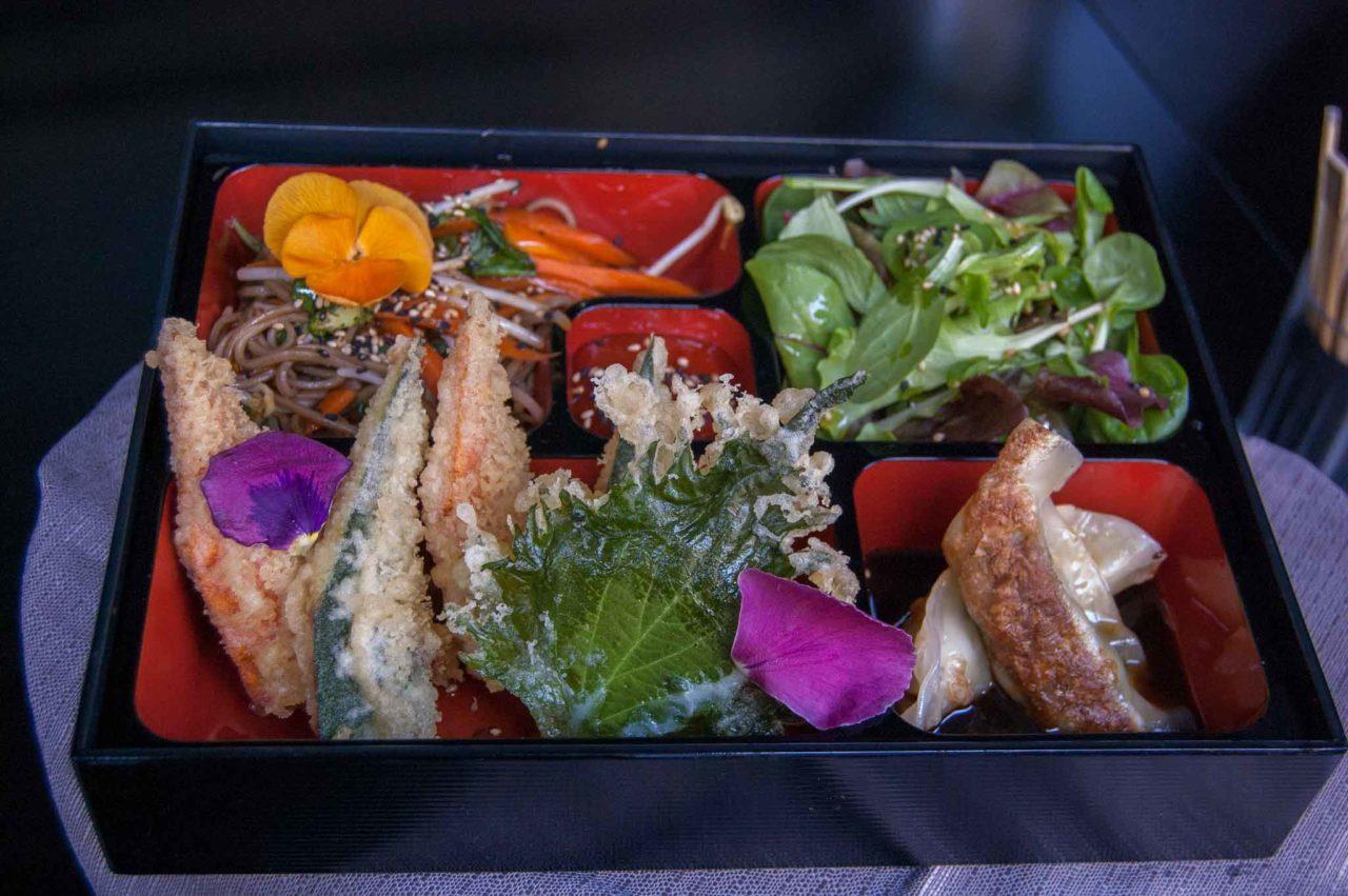 menu vegetariano giapponese