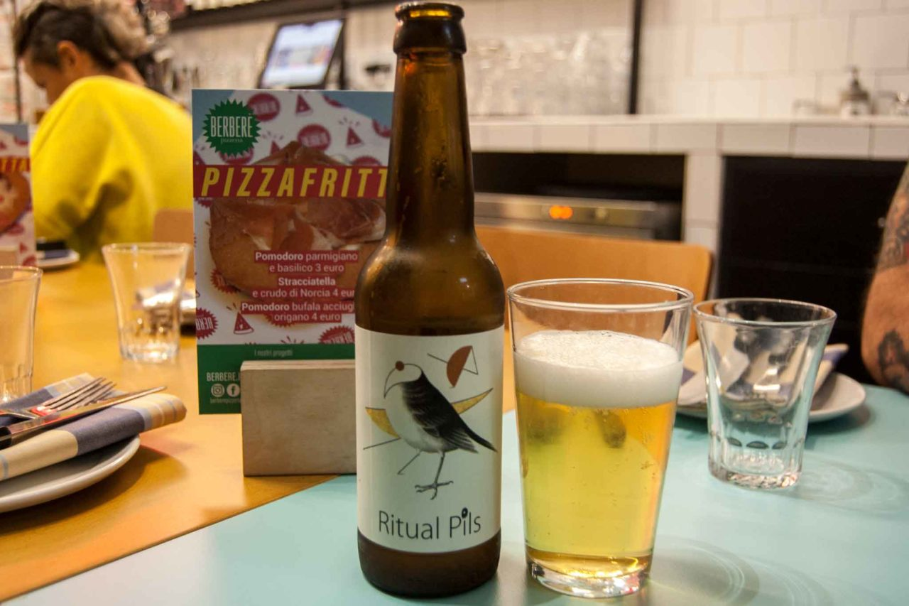 pizzeria con birra artigianale