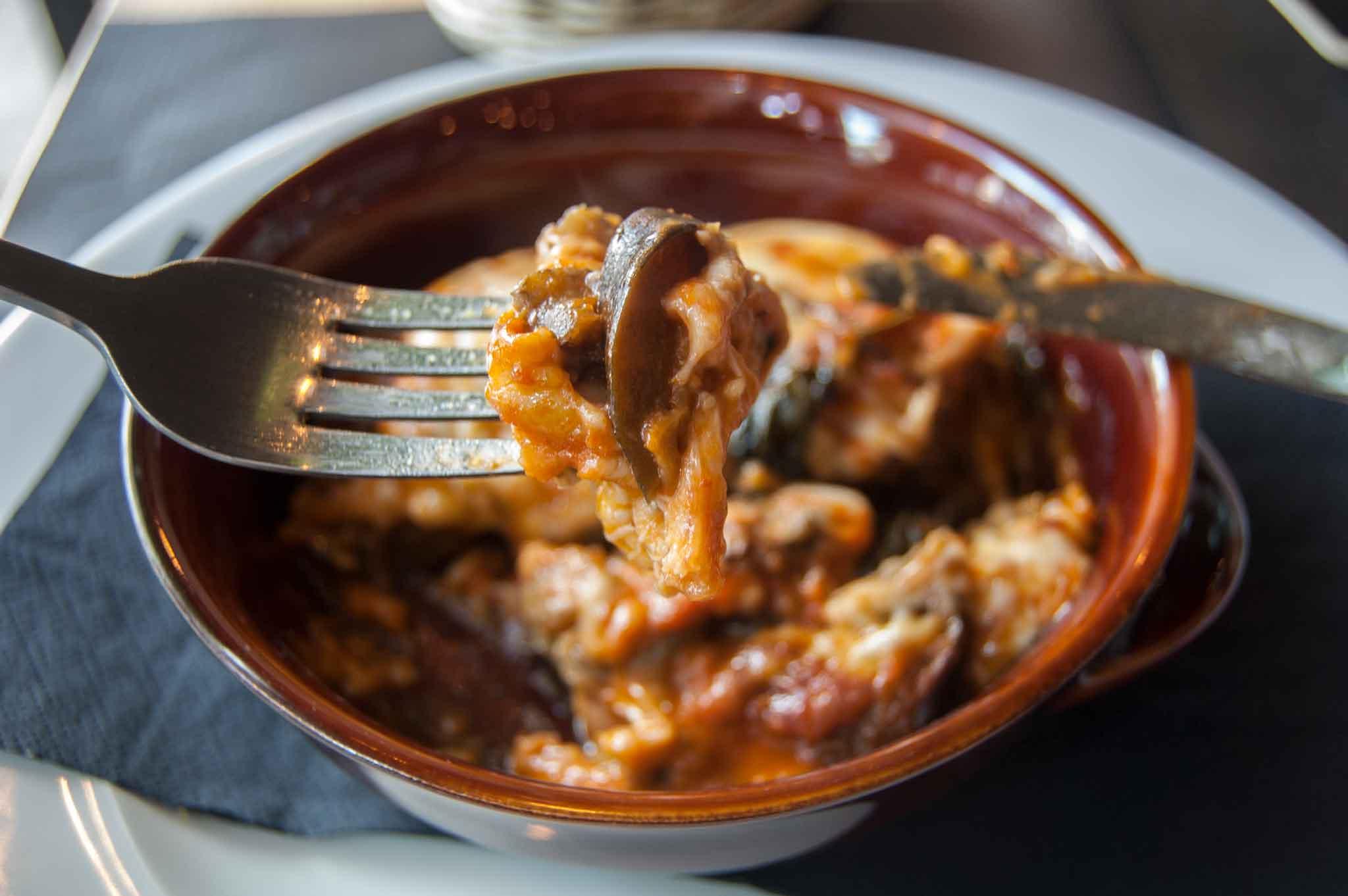 melanzane alla parmigiana leggere