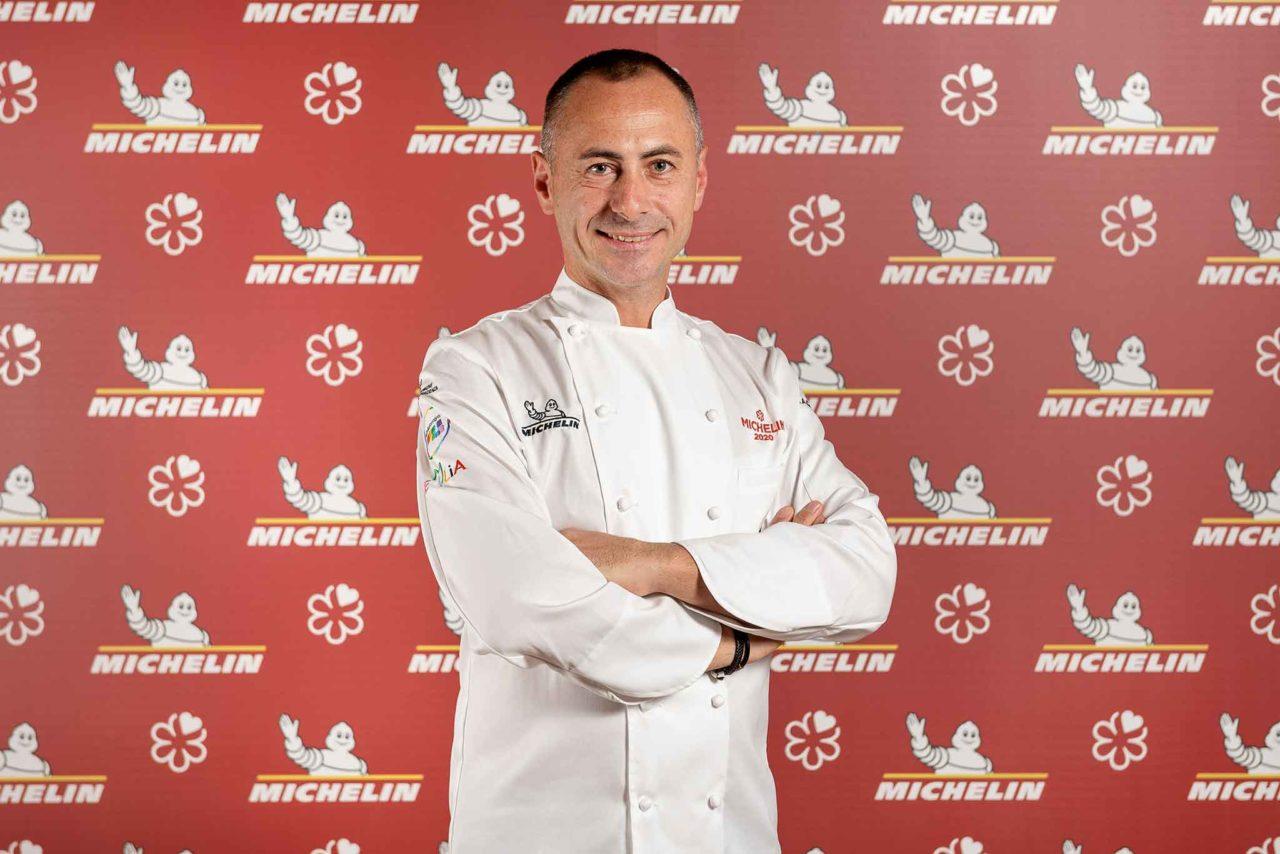 Francesco Apreda, chef del ristorante Idylio a Roma, una stella Michelin