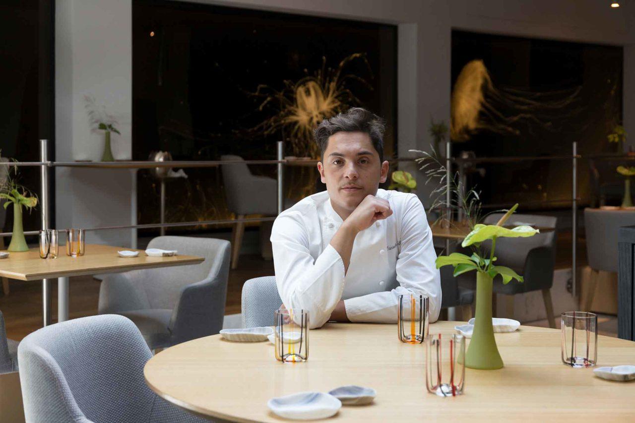 Daniele Lippi chef del ristorante Acquolina a Roma, una stella Michelin
