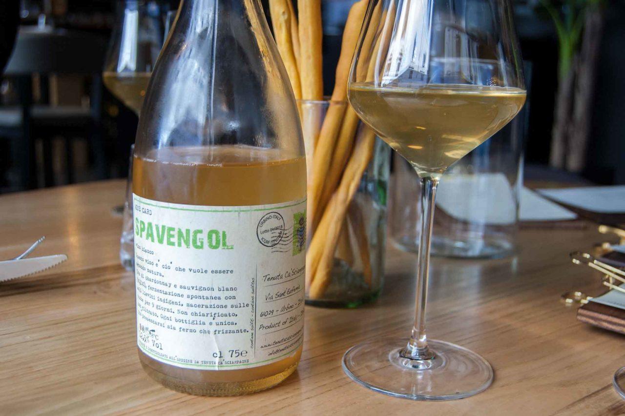 ristorante con vini naturali