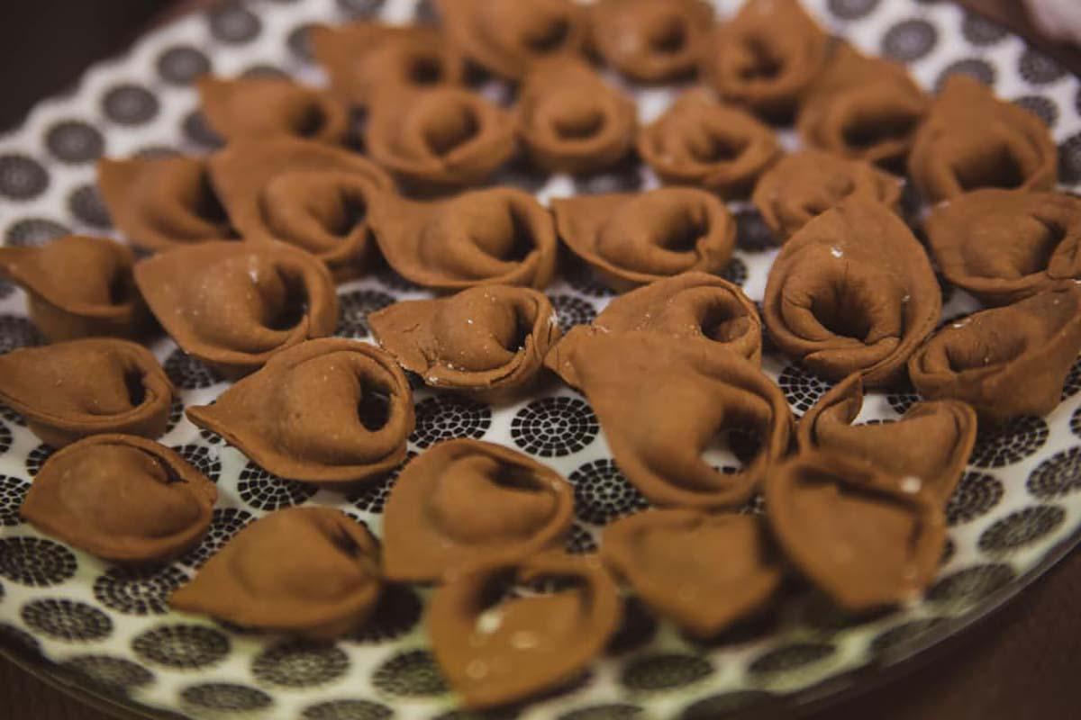 tortelloni al cacao ricetta