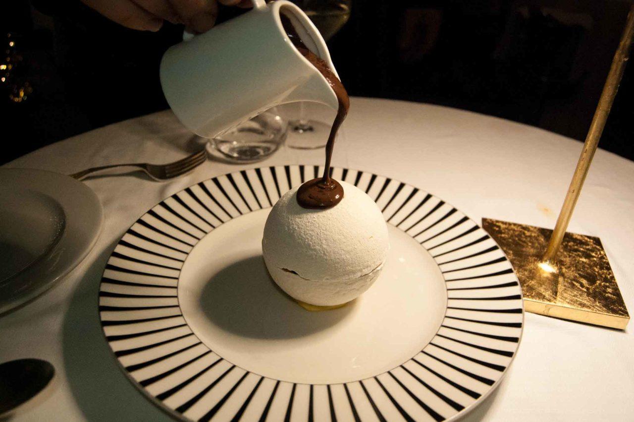 dessert con cioccolato