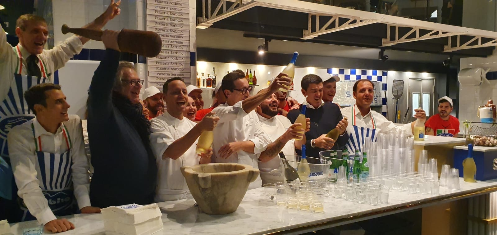 Gino Sorbillo apre nuova pizzeria a Genova