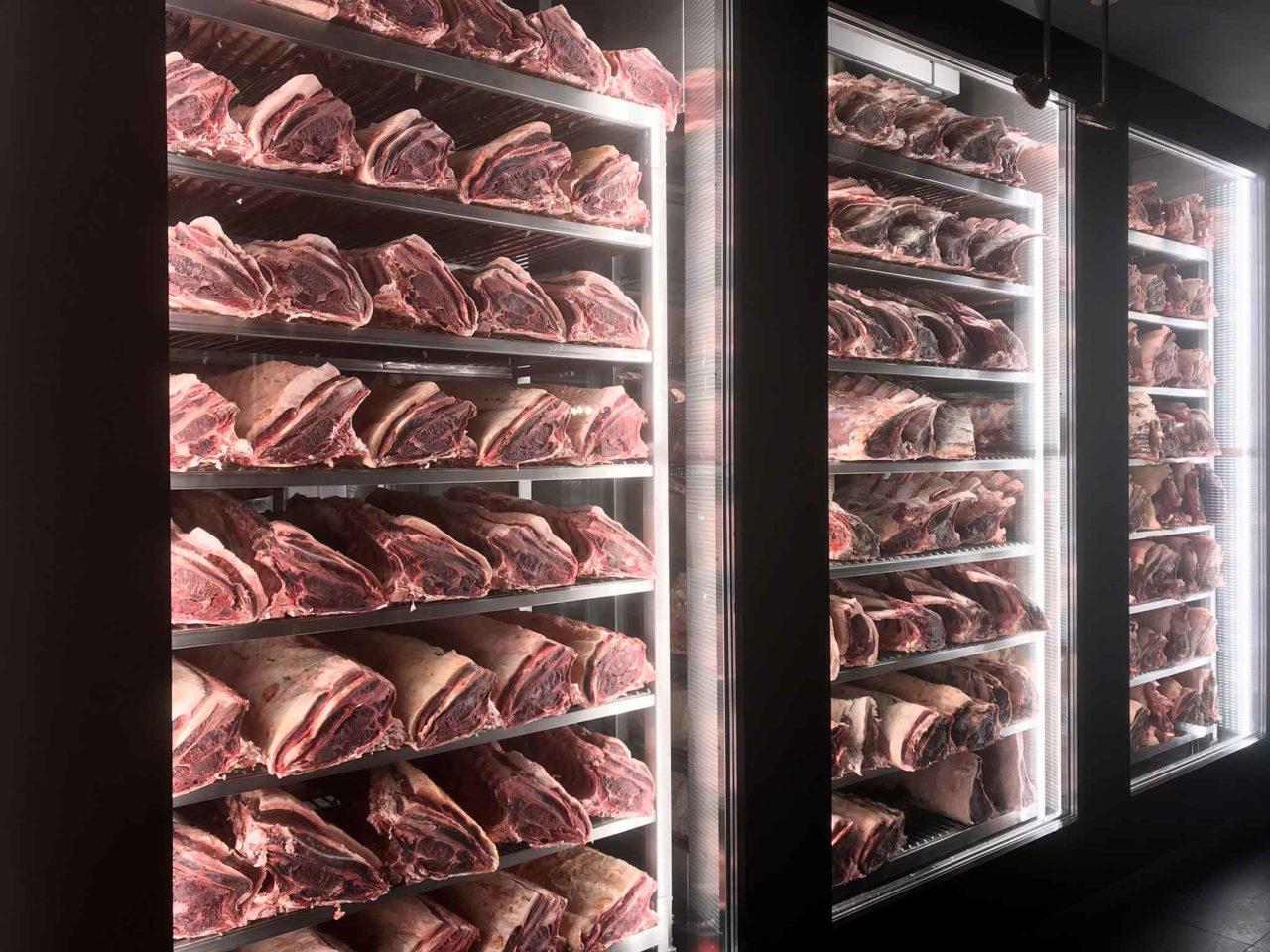 carne in frigorifero
