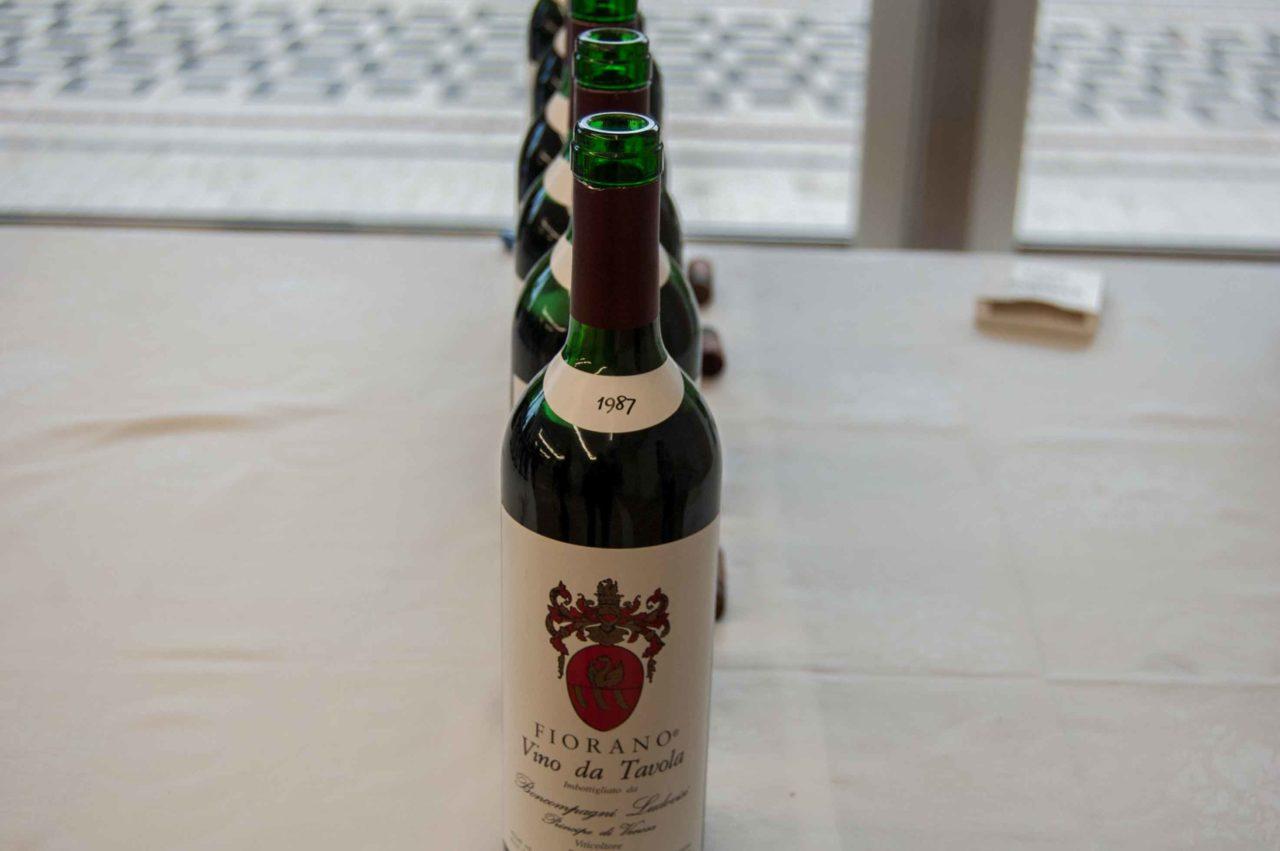 vino rosso da invecchiamento