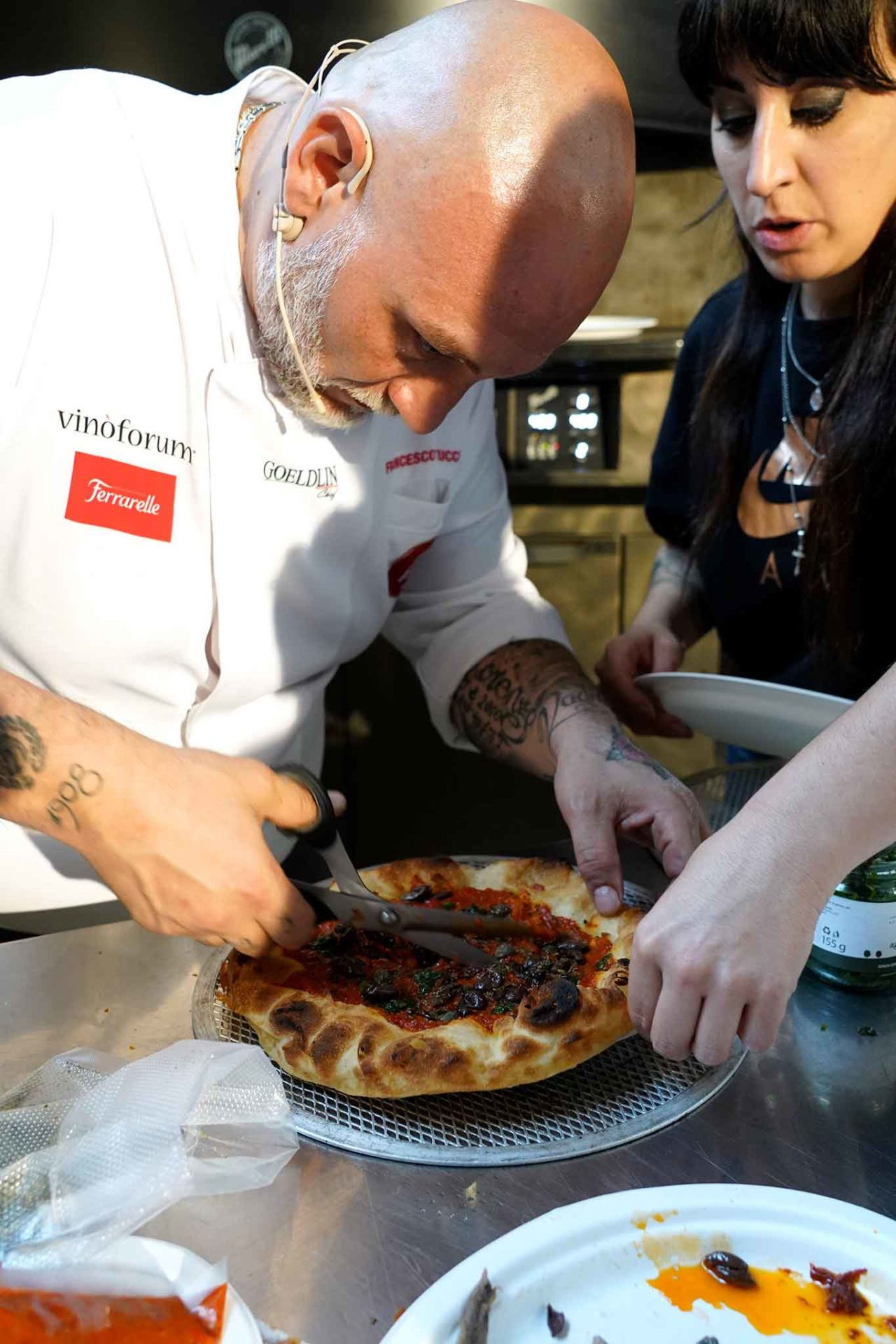 pizza Francesco Martucci I Masanielli Caserta