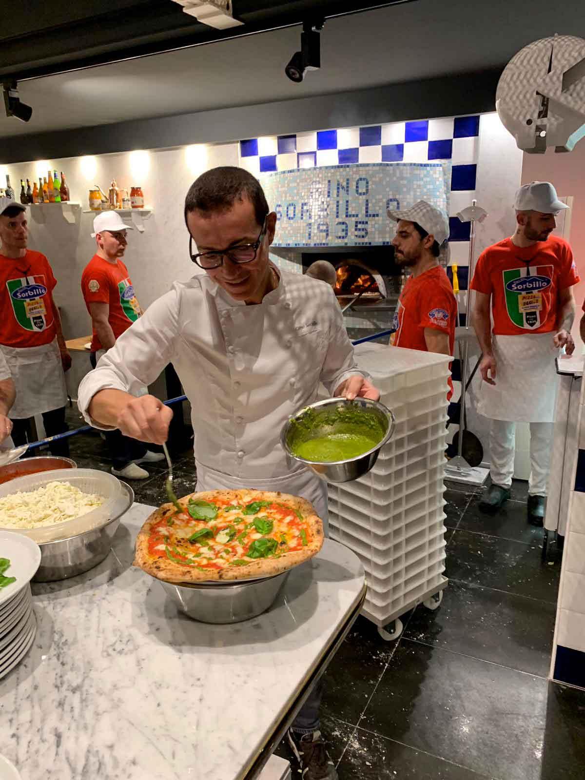 Nuova pizzeria Gino Sorbillo a Genova