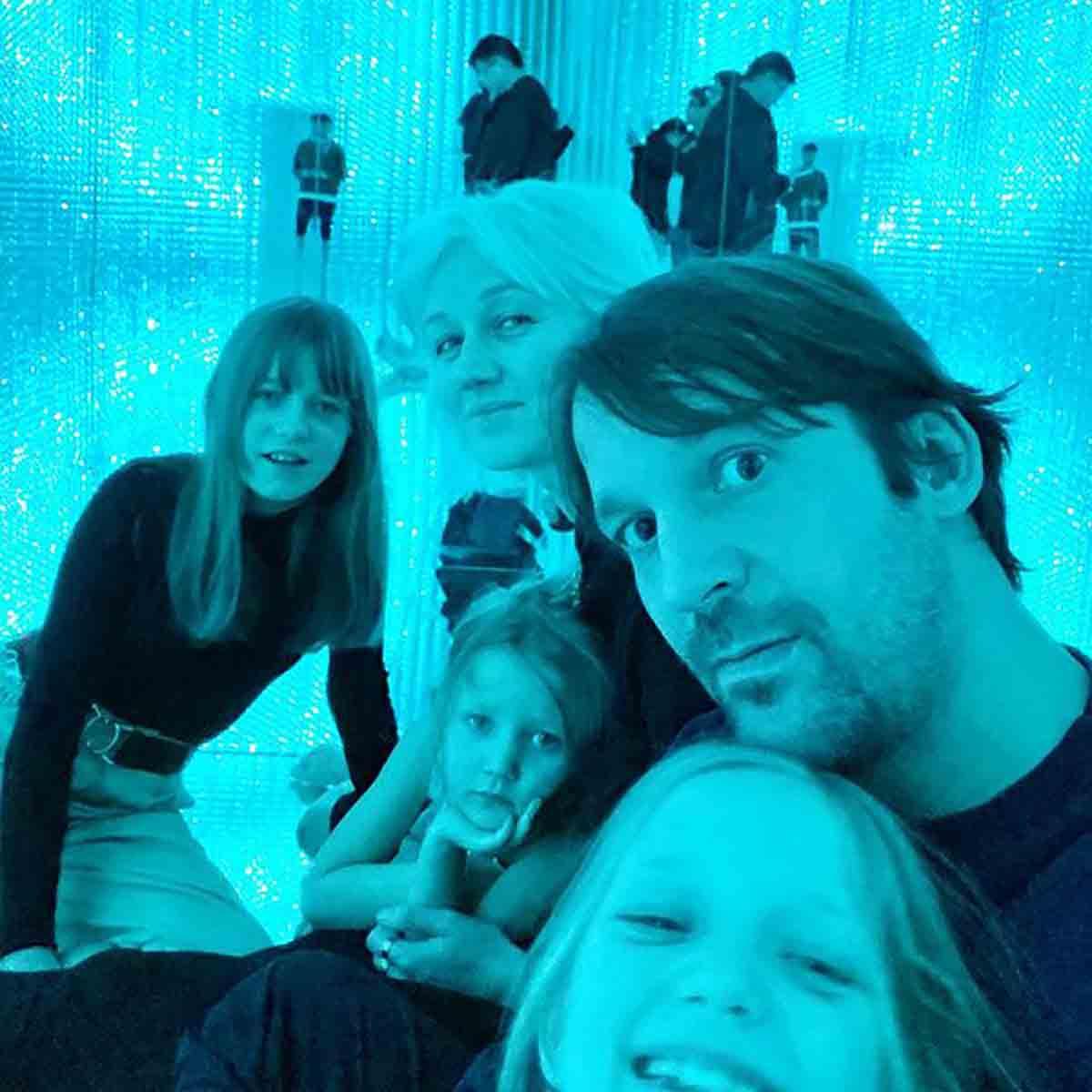 René Redzepi e la sua famiglia