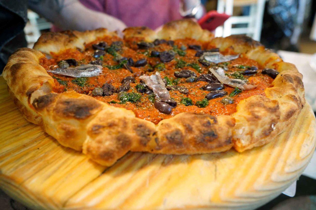 pizza fritta forno Francesco Martucci