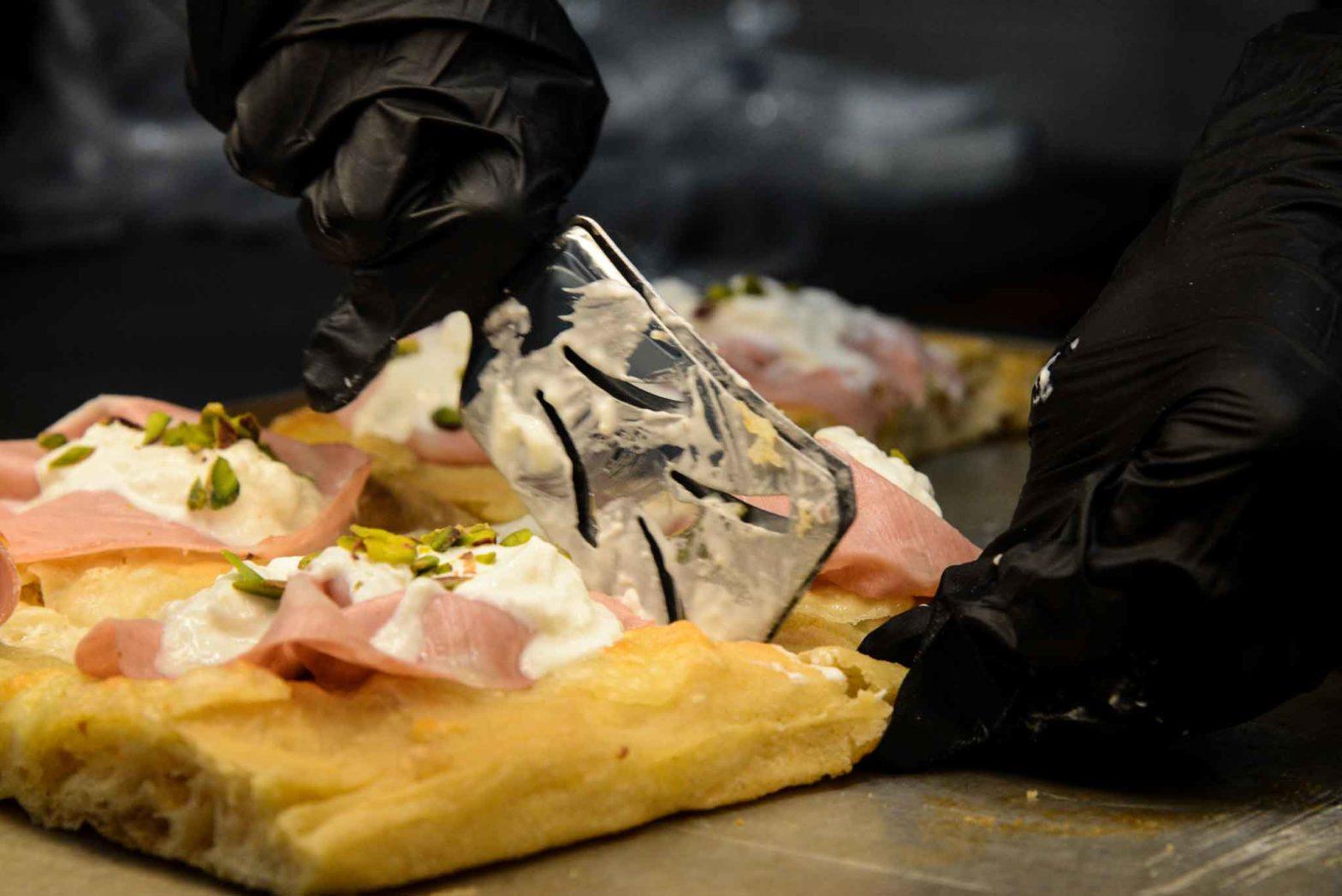 Gusti pizza mortadella