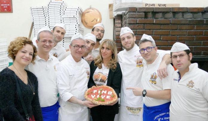 Pizza per Pino Daniele