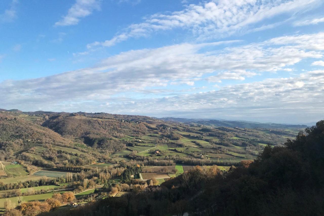 Umbria Montone paesaggio