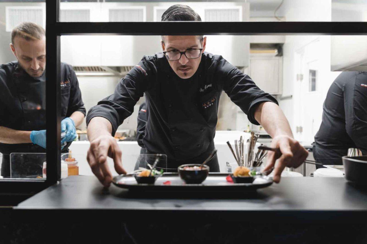 ristorante con cucina fusion