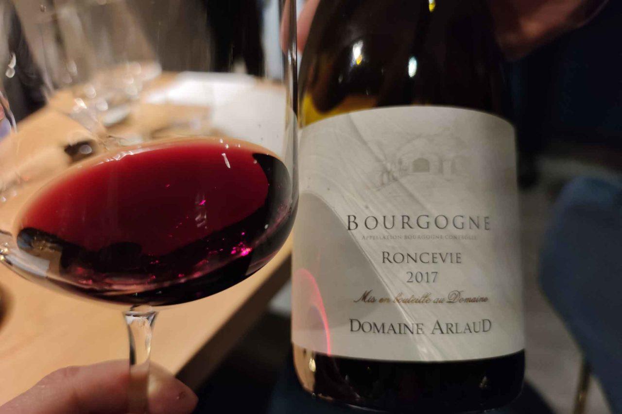 ristorante con vini francesi