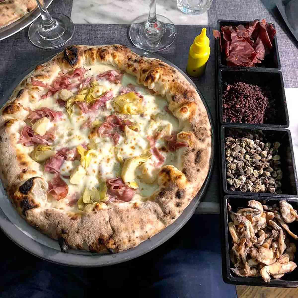 pizza capricciosa Franco Pepe