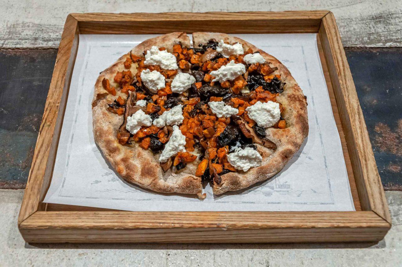 ottima pizza vegetariana