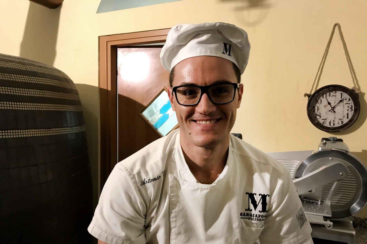 pizzaiolo Antonio Voto