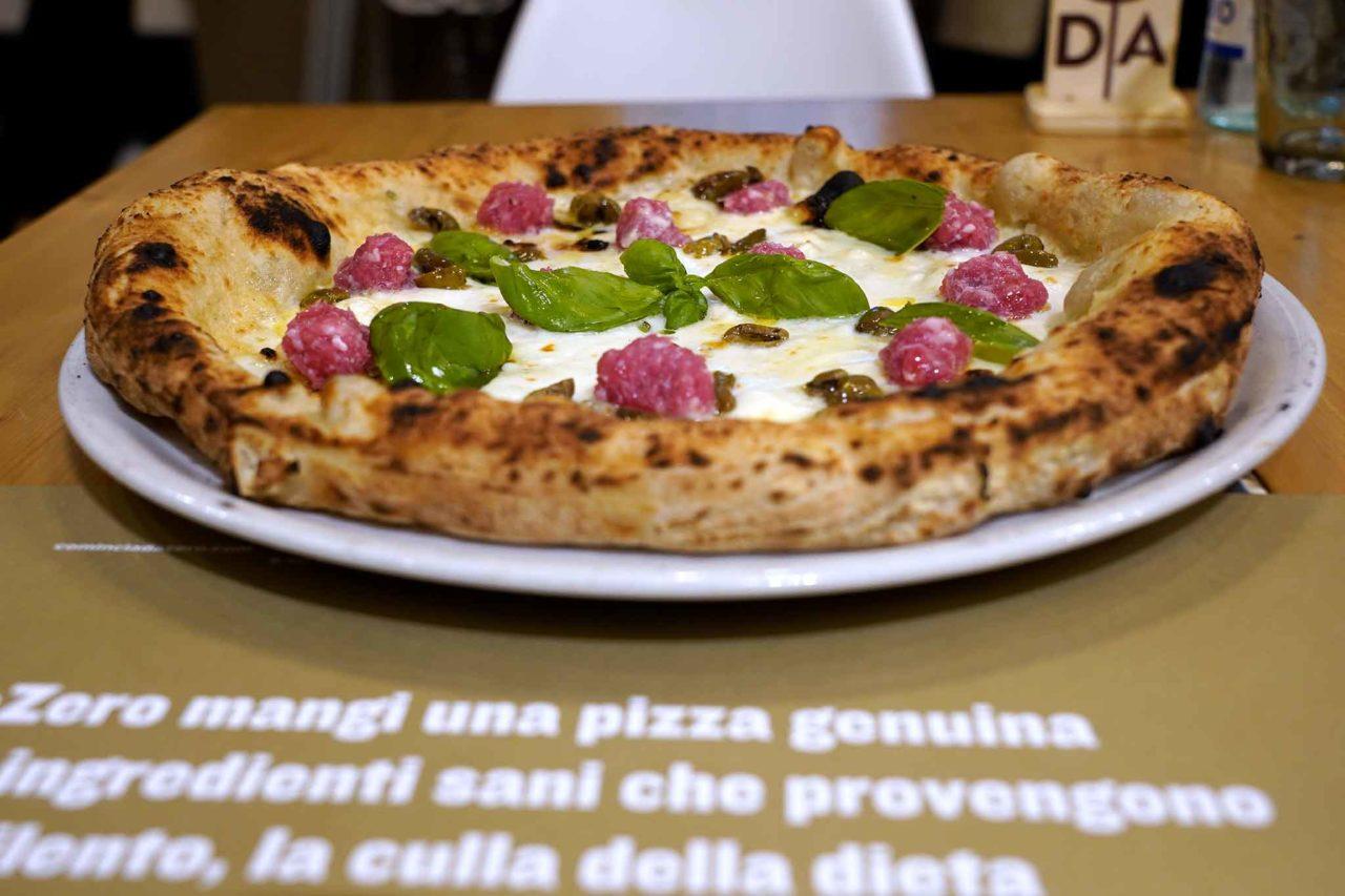 Da Zero pizzeria Torino pizza Abbracci Cilento Piemonte