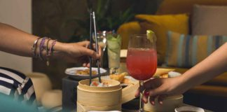 Dim Sum Bar del ristorante cinese Dao a Roma