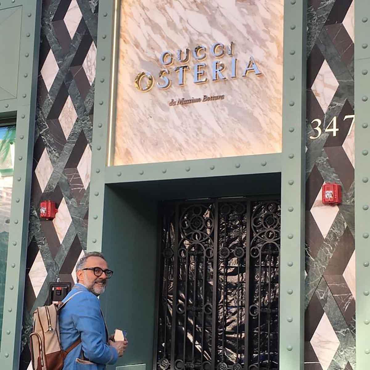 Massimo Bottura Gucci Osteria