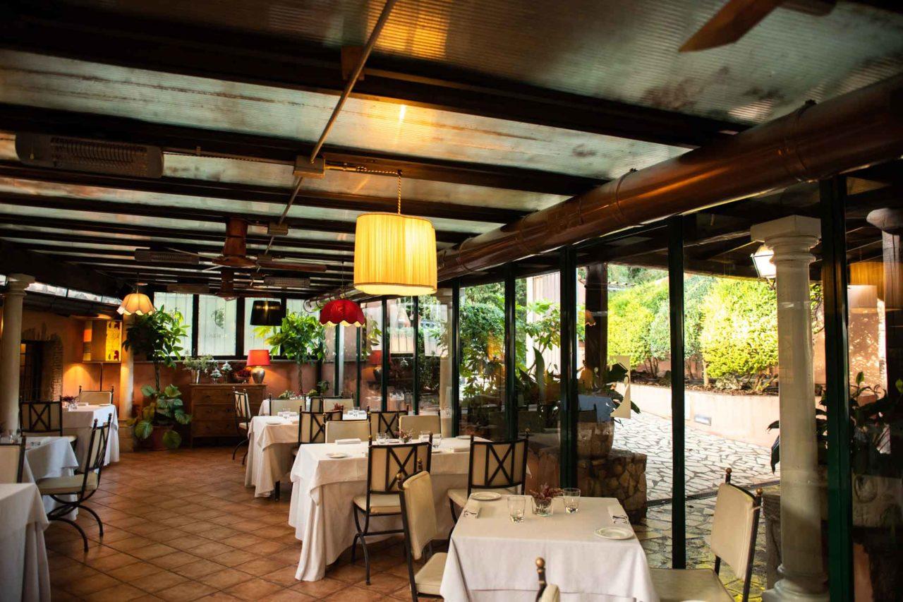 ottimo ristorante con dehor in roma centro