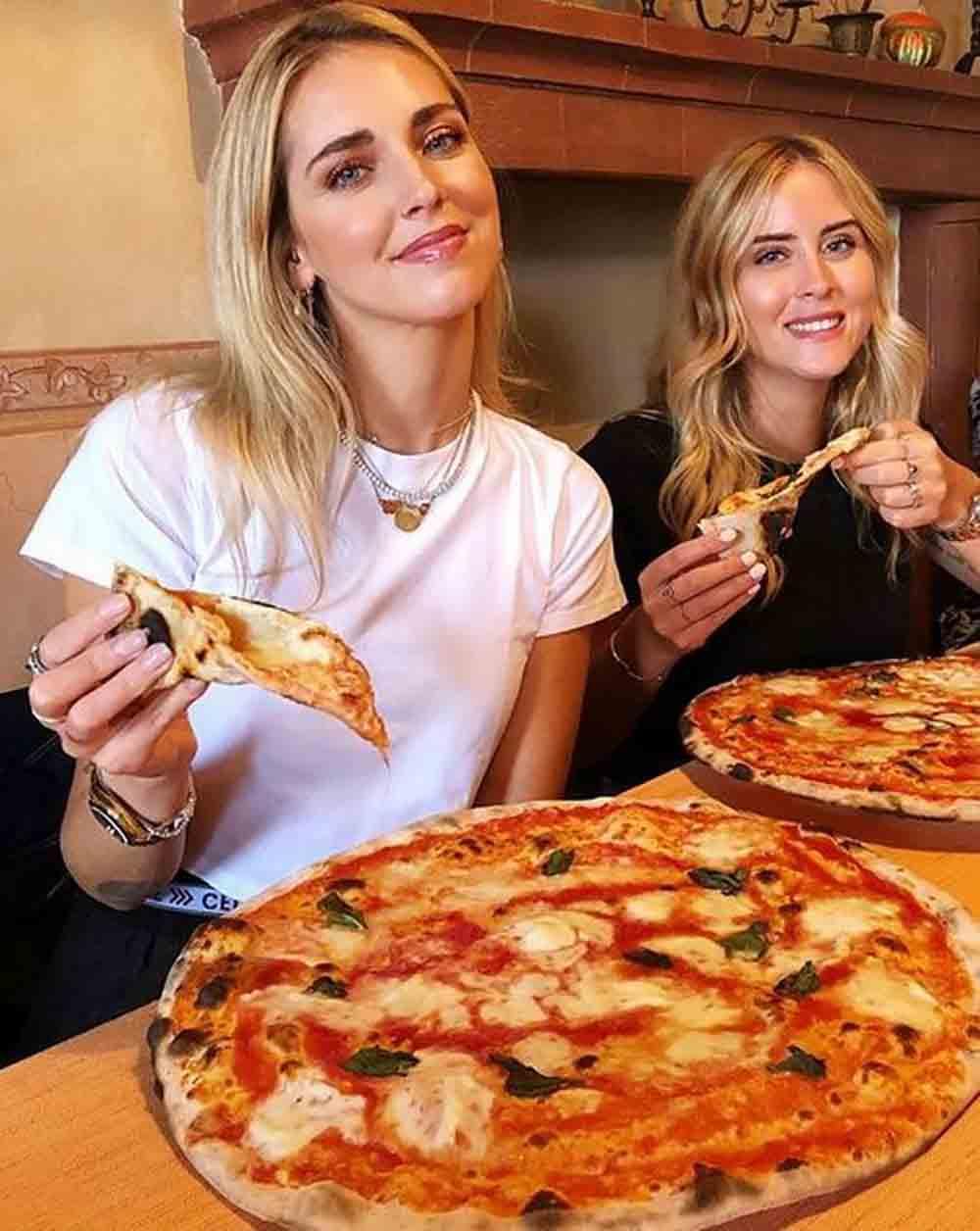 Chiara Ferragni pizza